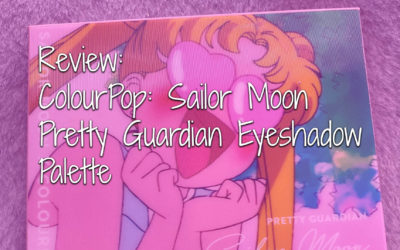 Review – ColourPop Sailor Moon – Pretty Guardian Eye Shadow